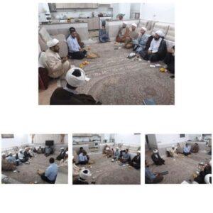 جلسه تشکلهای منطقه ای طلاب دیباج و حومه