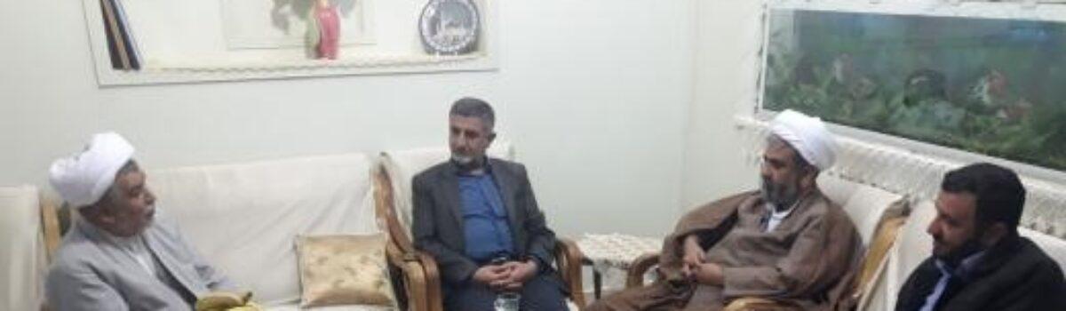 دیدار و مصاحبه با حضرت حجت الاسلام والمسلمین جناب حاج شیخ محمد ابراهیمی ورکیانی دامغانی