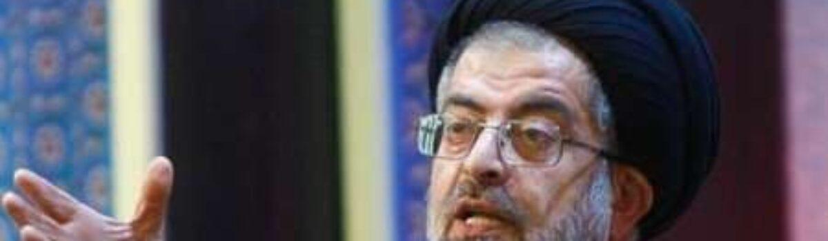 فاضل مجاهد حجت الاسلام و المسلمین سیّد علی شاهچراغی