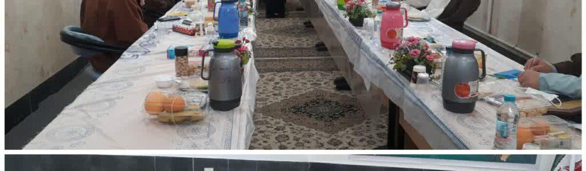 نشست شورای عالی حوزه های علمیه استان سمنان با حضور آیت الله سیدمحمد شاهچراغی